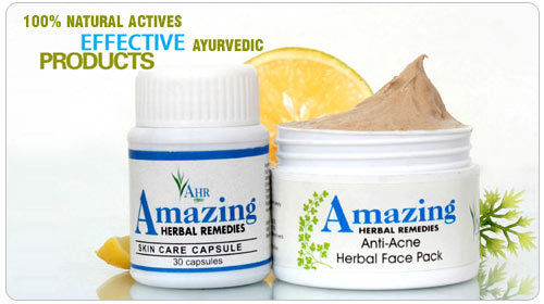 Amazing-Herbal Akne-Paket